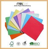 ファイルフォールドを作るための185GSM A4のサイズの高品質カラー板紙表紙