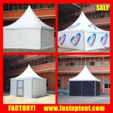 Шатер ткани PVC автопарка Gazebo Pagoda цены по прейскуранту завода-изготовителя 6X6m