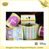 Het afdrukken van Zelfklevende Sticker van het Broodje van het Etiket de Waterdichte (jhxy-AS00017)