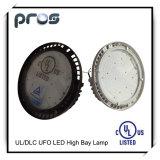 120lm/W TUV aufgeführtes 100W 150W der UFO-LED hohes Lager-Licht Bucht-Beleuchtung-LED