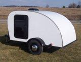 Малый трейлер туриста пользы трейлера перемещения с передвижной спальней кухни (TC-010)