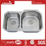 CSAの証明の台紙の倍ボールの台所の流しの下の20-1/2X34インチのステンレス鋼