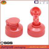 Botella de detergente líquido para el lavado Tapas plásticas de plástico Tapa de plástico