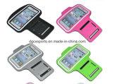 Im Freiensport-Armbinde-Kasten für Mobiltelefon