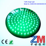 300 mm High Flux Full Ball Green Flashing Traffic Light Module
