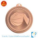 Médaille de estampage en bronze en gros de souvenir de récompense de la Chine Hocky