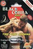 Nieuwe Zwarte Mamba 9000 de Mannelijke Seksuele Capsule van de Kogel van de Pil van de Verhoging Natuurlijk allen