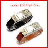 소맷동 USB 지팡이 USB3.0 가죽 USB