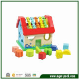 Giocattoli di legno educativi promozionali di Montessori di buona qualità