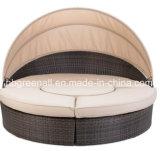 藤またはテラスの家具(GN-3652L)のための2016の贅沢の日曜日のベッド