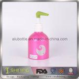 Bouteille en aluminium pour le savon et l'onguent