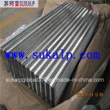 tôle d'acier ondulée galvanisée par 4X8