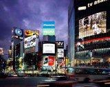 Visualización de LED publicitaria a todo color al aire libre alta de la eficacia P10