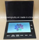 Tarjeta de felicitación del LCD de 10 pulgadas