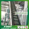 Pallina di legno della biomassa del fornitore della Cina che fa riga