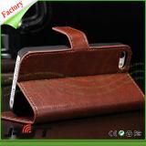 Caja de cuero del teléfono de la PU de la carpeta de los accesorios del teléfono celular para el SE del iPhone