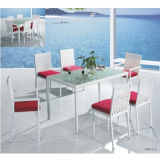 HA Outdoor Metal Table와 Chairs C-008