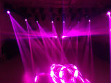 직업적인 Yodn Lamp 350W Beam Spot Wash 3in1 17r Moving Head Stage Light