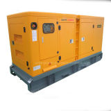 Vereinigen schalldichtes Cummins Dieselmotor-Generator-Set der Energien-75kw