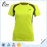 OEM Service Custom Private Label Fitness T-Shirt per Women