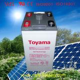 2V600ah Solar Battery Gel Battery Rechargeable Lead Acid Battery