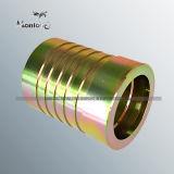 炭素鋼の油圧ホースフィッティングの亜鉛によってめっきされるイギリスのホースフィッティング(HA021)