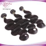 Человеческие волосы 100% бразильянина выдвижения волос верхнего качества