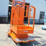3.3m équipement de levage mobile aérienne Stock Picker (Mâts Double)