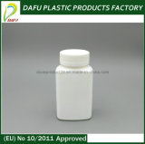 HDPE 150ml rechteckige leere Plastikflasche