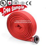 6-20 сопротивление вызревания штанги шланга бой пожара хлопко-бумажная ткани PVC