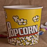 Подгонянные бумажные чашка или ведро попкорна для кино