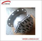 O aço inoxidável de Pn16 Sanitaty flangeou válvula de aspiração da bomba de água