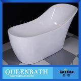 Vasca da bagno minerale Jr-B818 della stanza da bagno indipendente di superficie solida moderna