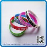 Förderndes Gift Silicone Bracelet mit Debossed Logo (HN-SB-001)