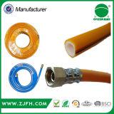 Trois couches de PVC de jardin de jet de tuyaux d'air à haute pression agricoles