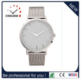 Marca Automática Swiss Stainless Steel Leather Men's Wrist Quartz Watch