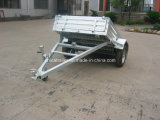 Tilt를 가진 최신 Dipped Galvanized Box Trailer
