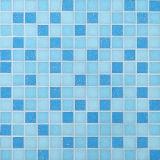 プールのための建築材料のモザイク・タイルの青いガラスモザイク