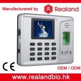Fingerprint e Card biométricos Tempo Attendance System com Backup Battery