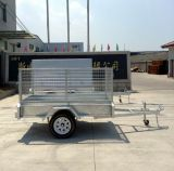 8X5 Single Axle Light Duty Utility Box Trailer (SWT-BT85-L)
