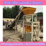 Pequeno - máquina de fatura de tijolo semiautomática feita sob medida de Cocrete
