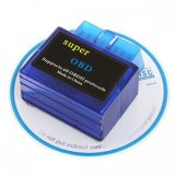 Elm327 V1.5 OBD 2 Bluetooth Diagnostic Tool in Blue