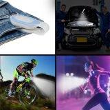 Manos libres Clips a la ropa o superficies magnéticas Luz de la lámpara Linterna de emergencia