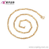 Jewelry Necklace del Men dell'Oro-Plated di Xuping 18k di modo in Copper Alloy 42734