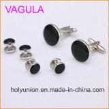 Espárragos de collar de plata de las mancuernas de Gemelos de la calidad de VAGULA nuevos en 6PCS fijado (295)