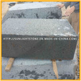 Basalto gris/negro oscuro afilado con piedra con los orificios para los azulejos de suelo, azulejos del basalto