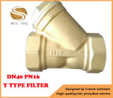 Dn40 Pn16 Messingy Typ Filter