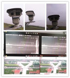 cámara resistente del laser 25W PTZ de la integración de los 4km con la lente de 2.0MP 600m m