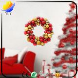 Decoraciones de la Navidad y guirnalda populares de la Navidad