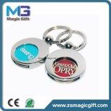 Anello portachiavi personalizzato della moneta del carrello, supporto d'acquisto della moneta del carrello, moneta del carrello con l'anello portachiavi